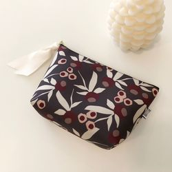 방수 Dear pouch (GARDEN-BROWN) - M size