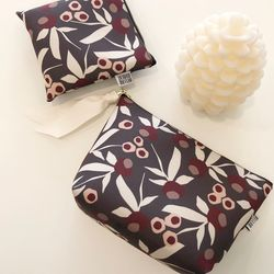 방수 Dear pouch (GARDEN-BROWN) - L size