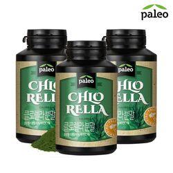 팔레오 클로렐라 분말 180g 3통  비타민C