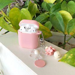 봄꽃 키링 + 에어팟 케이스