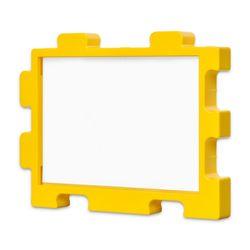 퍼즐액자 10x14.7 고급형 연결액자 옐로우