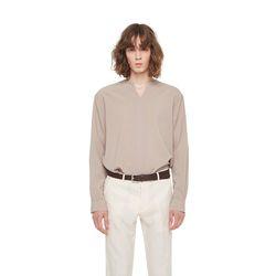 One tulsa V neck tshirt (Beige)