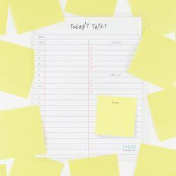 아이스타일 노트북 시간표 스케줄보드(Notebook Timetable)