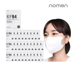 [노먼]황사 방역마스크 KF94(3매입) 30세트 (총90개)