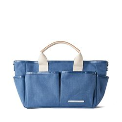 PARK PACK MESSENGER 720 CANVAS INDIGO BLUE