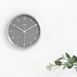 AL그레이무소음벽시계