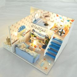 [adico]DIY 미니어처 하우스 - 오션 하우스