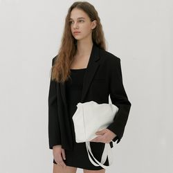 PULPY LEATHER BAG (WHITE)