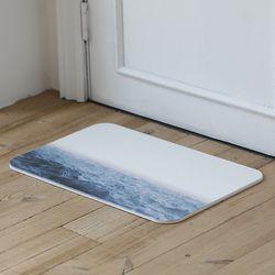 마리 규조토 욕실발판 디자인 발매트 L