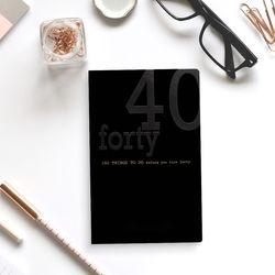 럭스 40대 버킷 리스트 저널 (각인추가)