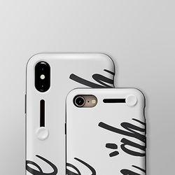 [몰카탐지] 세이프티 아이폰 케이스 - 커스텀 네이밍 아트
