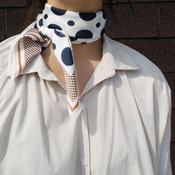Dot dot dot scarf