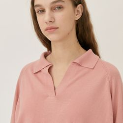 COZY COLLAR KNIT (PINK)