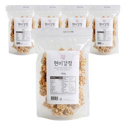 부드러운 수제 임금님표 이천쌀 현미강정 5봉