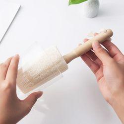 천연 수세미 컵세척솔