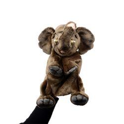 4040-코끼리 퍼펫인형(손인형) 24cm.H