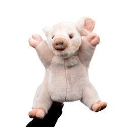 7339-돼지 퍼펫인형 (손인형) 25cm.H