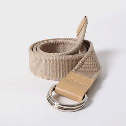 105 Webbing Belt Beige