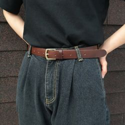 Muse leather belt(소가죽)