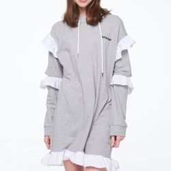 FRILL ONE-PIECE HOODIE[06]