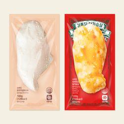 감동닭- 수비드 닭가슴살 1kg (오리지널&토마토할라피뇨)