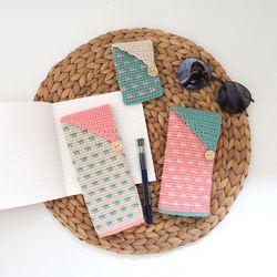 코바늘 지갑 케이스 3종 DIY 세트