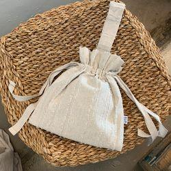 스트랩토트백 Strap tote bag (LINEN-BEIGE)