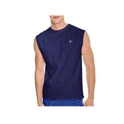 챔피온 코튼 저지 래글런 캡슬리브 티셔츠 T2230 네이비