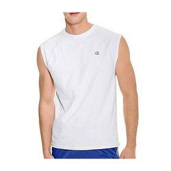 챔피온 코튼 저지 래글런 캡슬리브 티셔츠 T2230 화이트