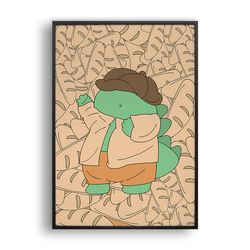 빵 모자를 쓴 룡룡이