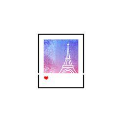 블랭코 스텐실도안603 사진프레임 에펠탑