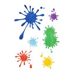 블랭코 스텐실도안522 잉크 패턴