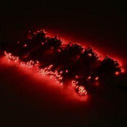 LED300구 연결형검정선 (적색) 크리스마스 트리장식 조명천지