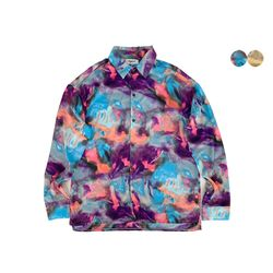 PSYCHEDELIC OVERFIT SHIRT(2color)(unisex)