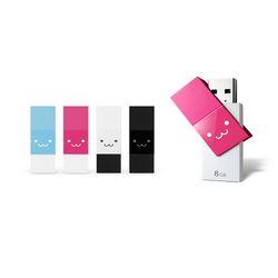스윙타입 USB 3.0 메모리 8G 핑크