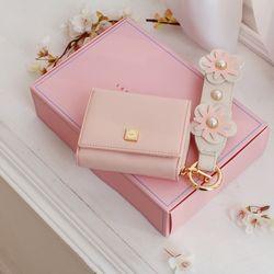 핑크지갑 +꽂 스트랩 패키지 (AG2H7603DA+AG2E8301OA)