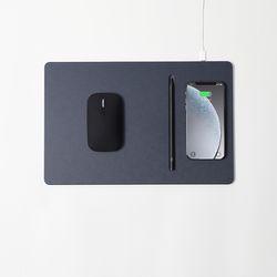파우트 HANDS3 PRO COMBO 무선충전마우스+마우스패드