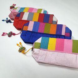 전통누비 화장품 파우치/가방