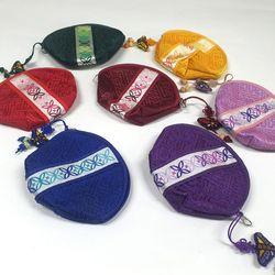 전통 색동 동전지갑/파우치