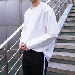 위텐드 논 라운드 히든셔츠