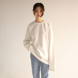 (unisex) over snap button sweatshirt (3colors)
