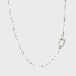 [ARETE] Clasp Design Necklace