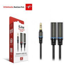 IK Multimedia iLine 헤드폰 스테레오 스플리터