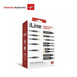 IK Multimedia iLine 6가지 고품질 오디오 케이블 패키지