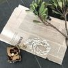 handmade 로프 이니셜 목걸이 키링 - 에어팟키링
