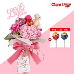 [화이트데이] 츄파춥스 사탕틴트 꽃다발 세트