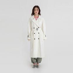 monaco double long trench coat (3colors)