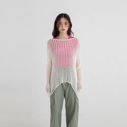 net loose thin knit (3colors)