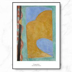 인테리어 그림 명화 포스터 컴포지션 중형