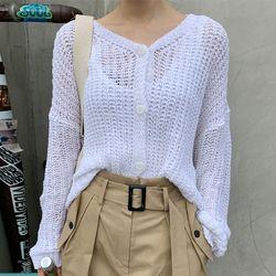 aloha summer knit cardigan
